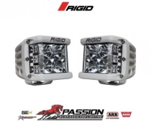 Đèn Led Rigid Flood Surface Mount White Housing Pair D-SS Pro - Chính Hãng | PassionAuto