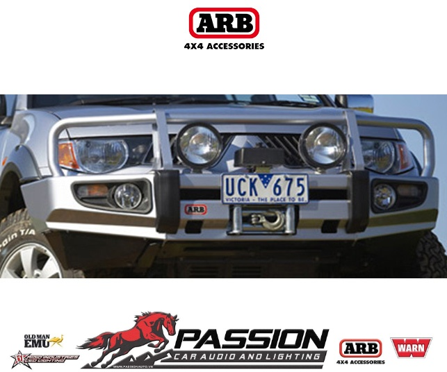 Cản trước xe Mitsubishi Triton 2006-2015
