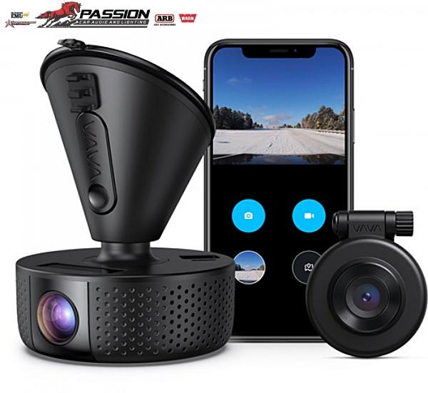 Camera Hành Trình VAVA Dual Dash Cam 2 mắt trước sau | PassionAuto