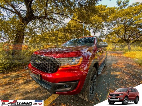 Ford Everest với gói độ tinh tế