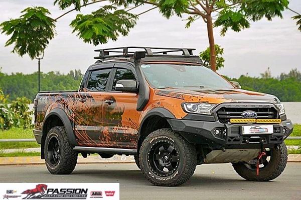 Ford Ranger Bitubo Độ Full Combo Đi Xa Cực Chất Cho Những Chuyến Đi