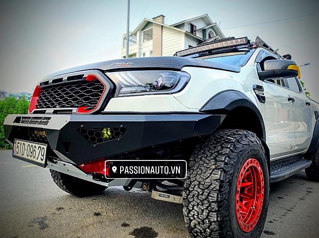Ford Ranger Nhìn Khác Lạ Với Bản Độ Chất