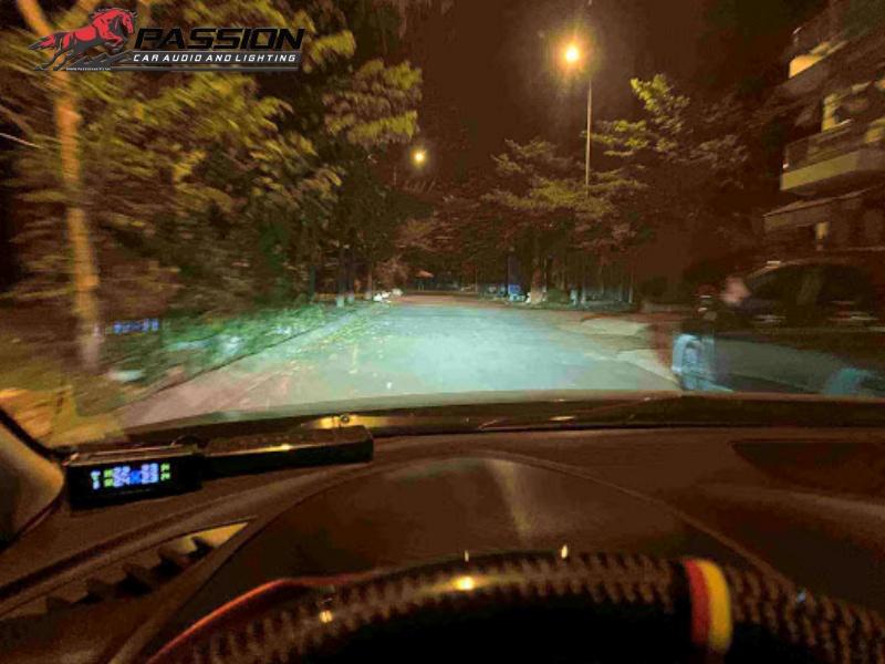 Đèn Bi Led Speedlight chiếu xa thực tế | Passion auto