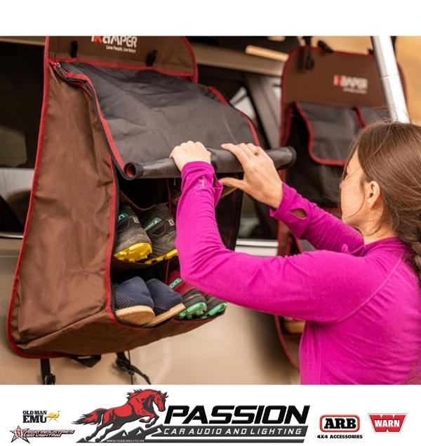 Túi Đựng Giày – iKamper Shoe Rack dễ dàng sử dụng