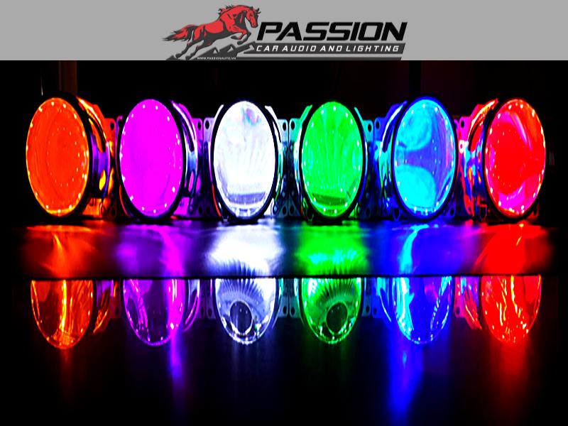 Vòng Đèn Mắt Quỷ Đổi Màu cho ô tô   PassionAuto