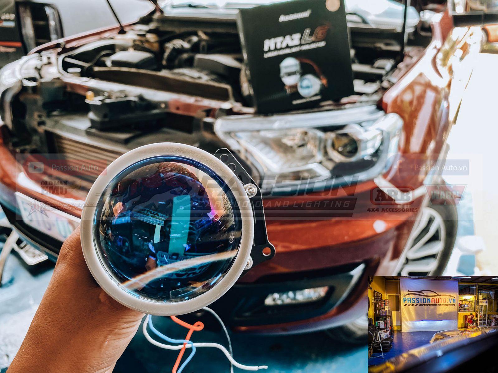 độ đèn pha Led siêu sáng  cho xe hơi