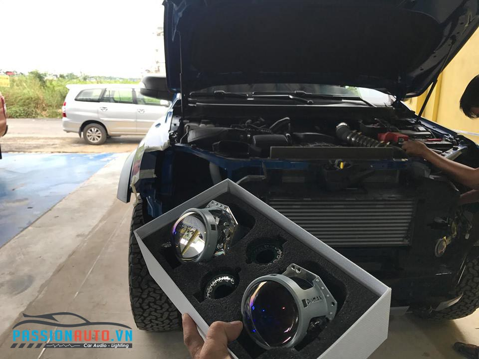 độ đèn led xe bán tải 2