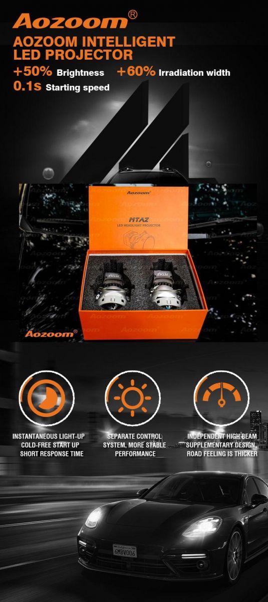 Tính năng nổi bật của đèn Bi Led MT AZ | Passionauto